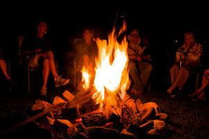family-campfire